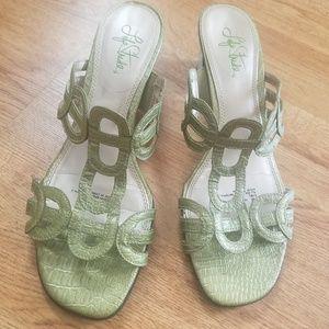 Green Life Stride Sandals